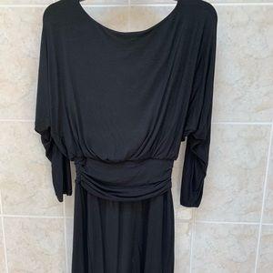 Dresses & Skirts - Black cotton dress, universal wear!